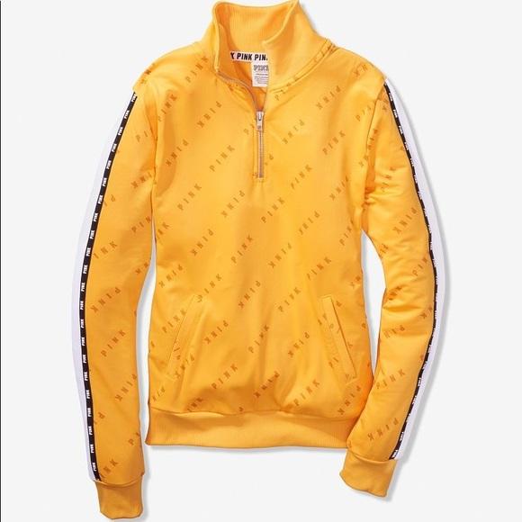 914e7954b40a1 Pink Victoria's Secret track jacket NWT